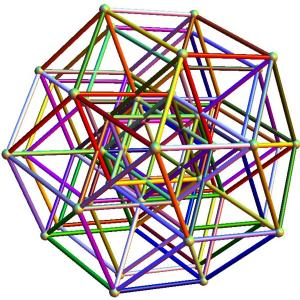 5-cube to H4 folding